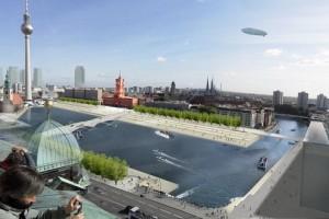 Planschen mit Neptun – neue Pläne für das Rathausforum