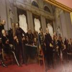 """Gemälde """"Berliner Kongress 1878"""" im Roten Rathaus, (Foto: André Franke)"""