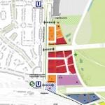 Ausschnitt Masterplan für Tempelhofer Damm (Quelle: SenStadt)