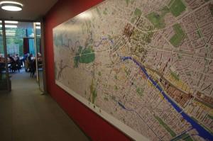 Überraschung: Stadtmodell in 3D auf der Grundlage des Planwerks Innenstadt aus dem Jahre 2005. Macht sich mindestens gut als Orientierungshilfe. Holzmarkt muss ge-updated werden!