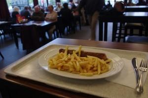 """""""Stäv"""" lässt grüßen: Aber ein Altkanzler-Filet ist es nicht. Auch nicht ganz so teuer, sondern """"nur"""" 6,90 Euro."""