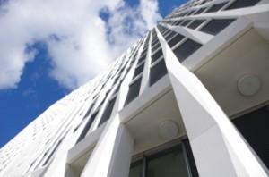 "Total Tower in der Europacity: Hochhaus (ca. 60 m), aber kein ""Skycraper"" (Foto: André Franke)"