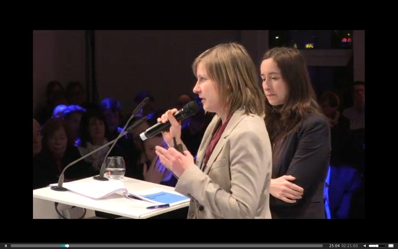 """Maria Brückner (links) und Daniela Riedel von zebralog: """"Bürgerbeteiligung muss auch Spaß machen."""""""