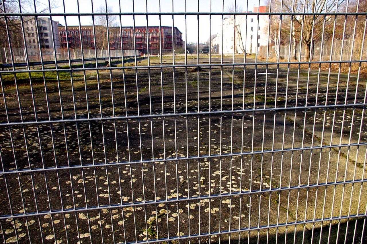 """Mauerpark, auf dem """"Dach"""" des Gleimtunnels. """"Hinterm"""" Horizont (im Sinne von """"betret- und erlebbar"""": das Brunnenviertel (Foto: André Franke)"""