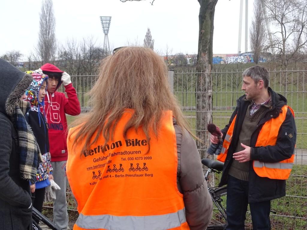 Welche Geschichte erzählt der Mauerpark? Vom Publikum hängt´s wohl ab, ob es um das Ringen um den Park geht oder das Niederringen der befestigten DDR-Staatsgrenze vor 25 Jahren (Foto: Kai Lübeck)