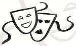 Masken tanzen am vielschichtigen Ort des Rathausforums (Bildnachweis: Icons/ Zeichnungen © Anna-Lena Schiller)