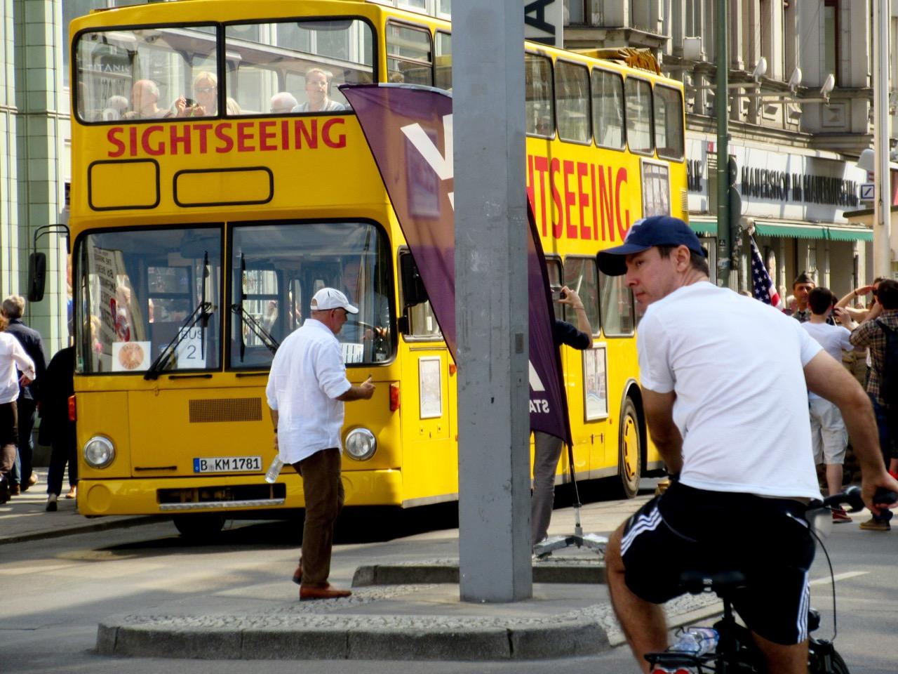 Reisebusse in Berlin