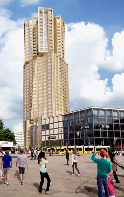 Gehry-Wohnturm
