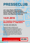 Presseclub 14.01.2016 (Stadtbüro Katrin Lompscher)