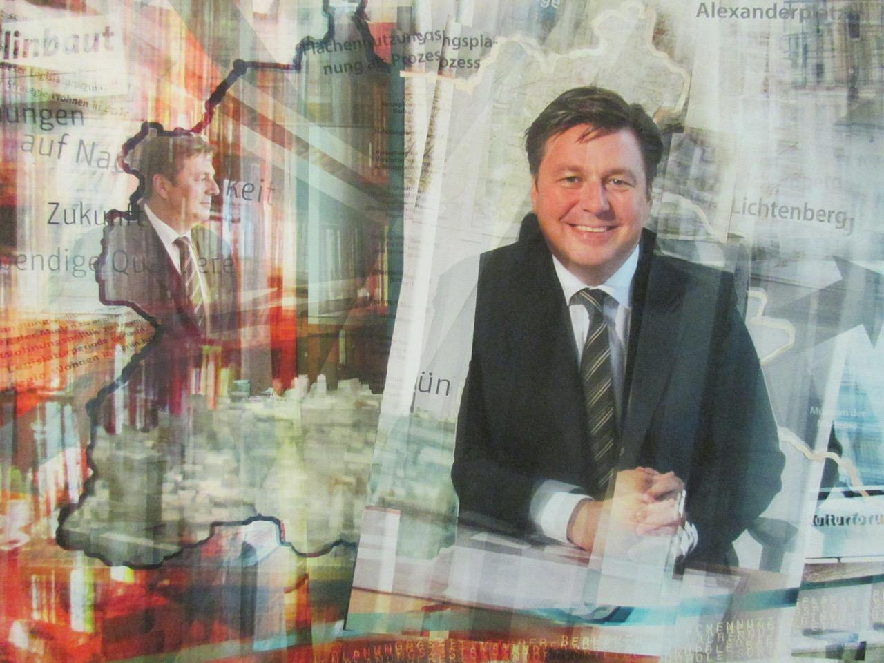 Maja Patas: Fotomontage von Andreas Geisel