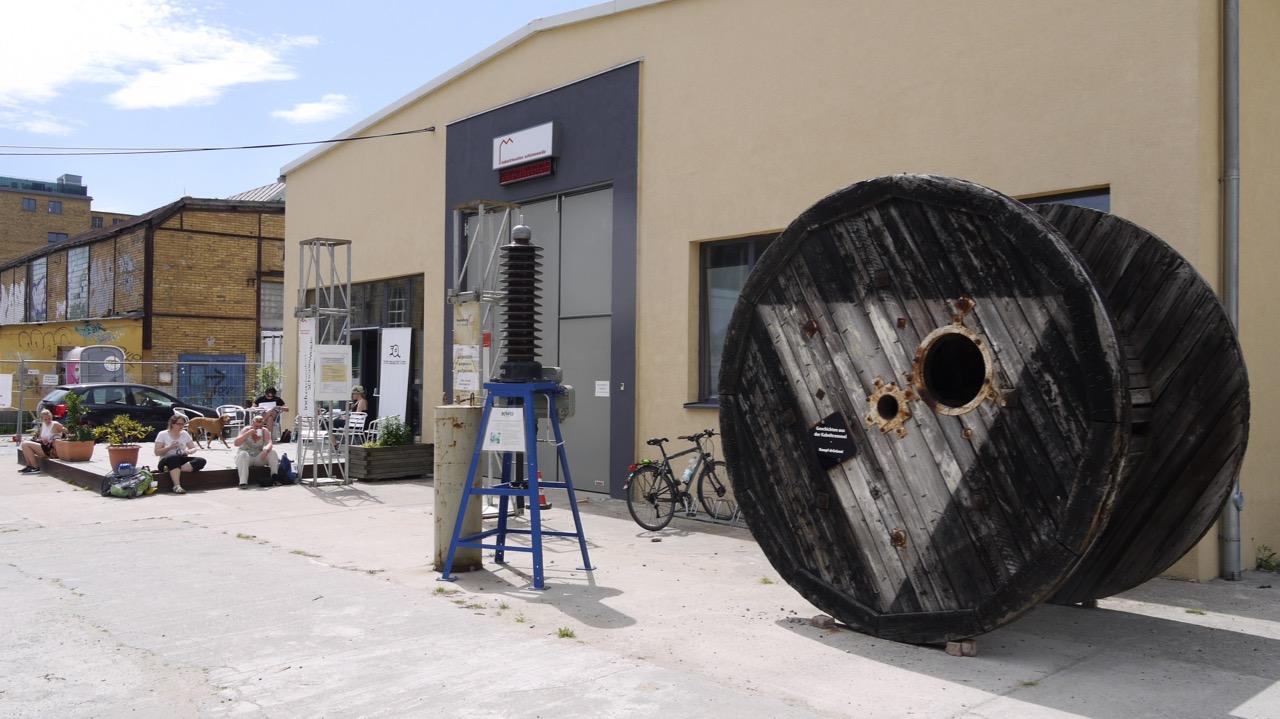 Industriesalon Schöneweide - Mitten im Stadtumbau des ehemals größten Industriestandorts der DDR (Foto: Industriesalon Schöneweide)