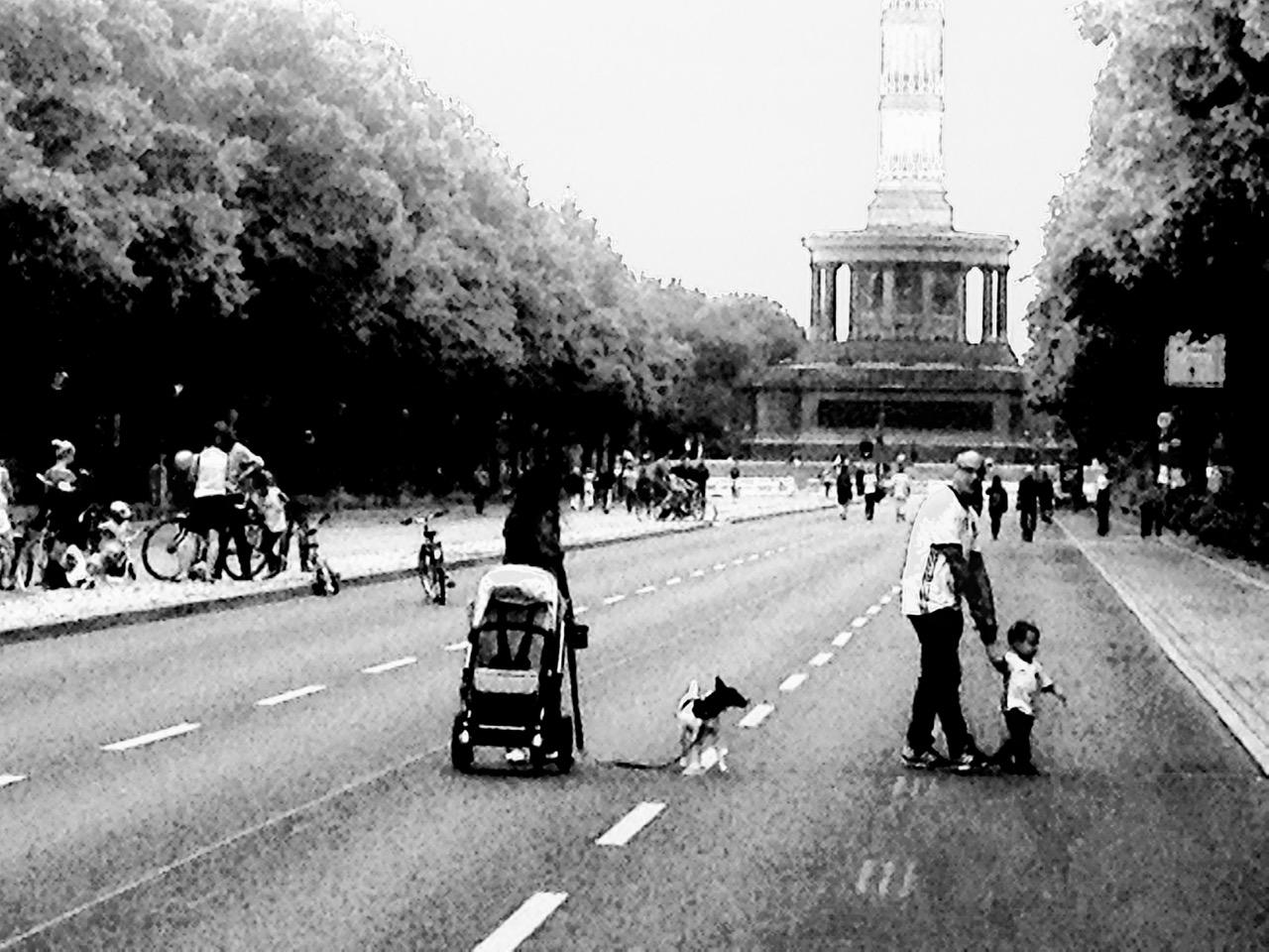 Berlins zweite Begegnungszone - die Straße des 17. Juni. Da geht noch was (Foto: André Franke)