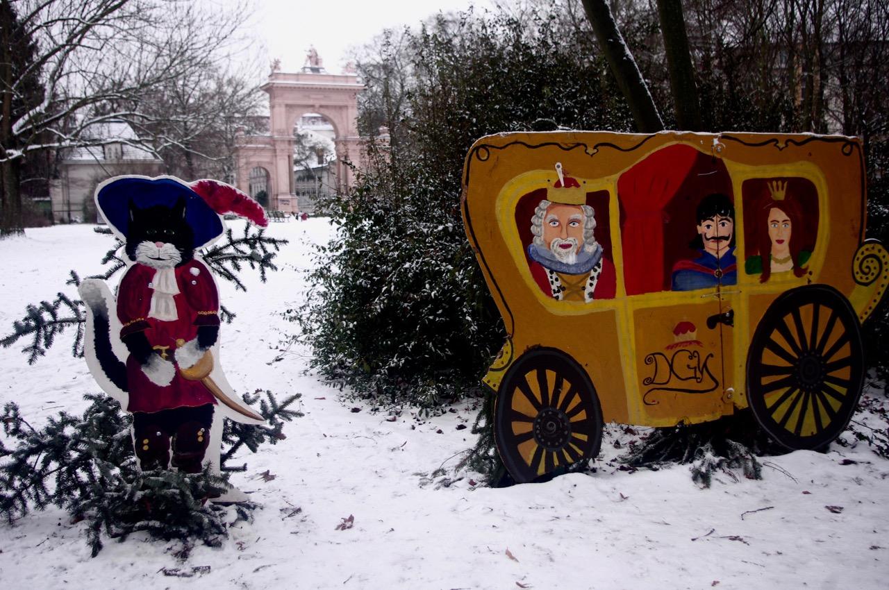Märchenstunde im Bürgerpark. Mimachen ist angesagt - bis 31. Januar (Foto: André Franke)