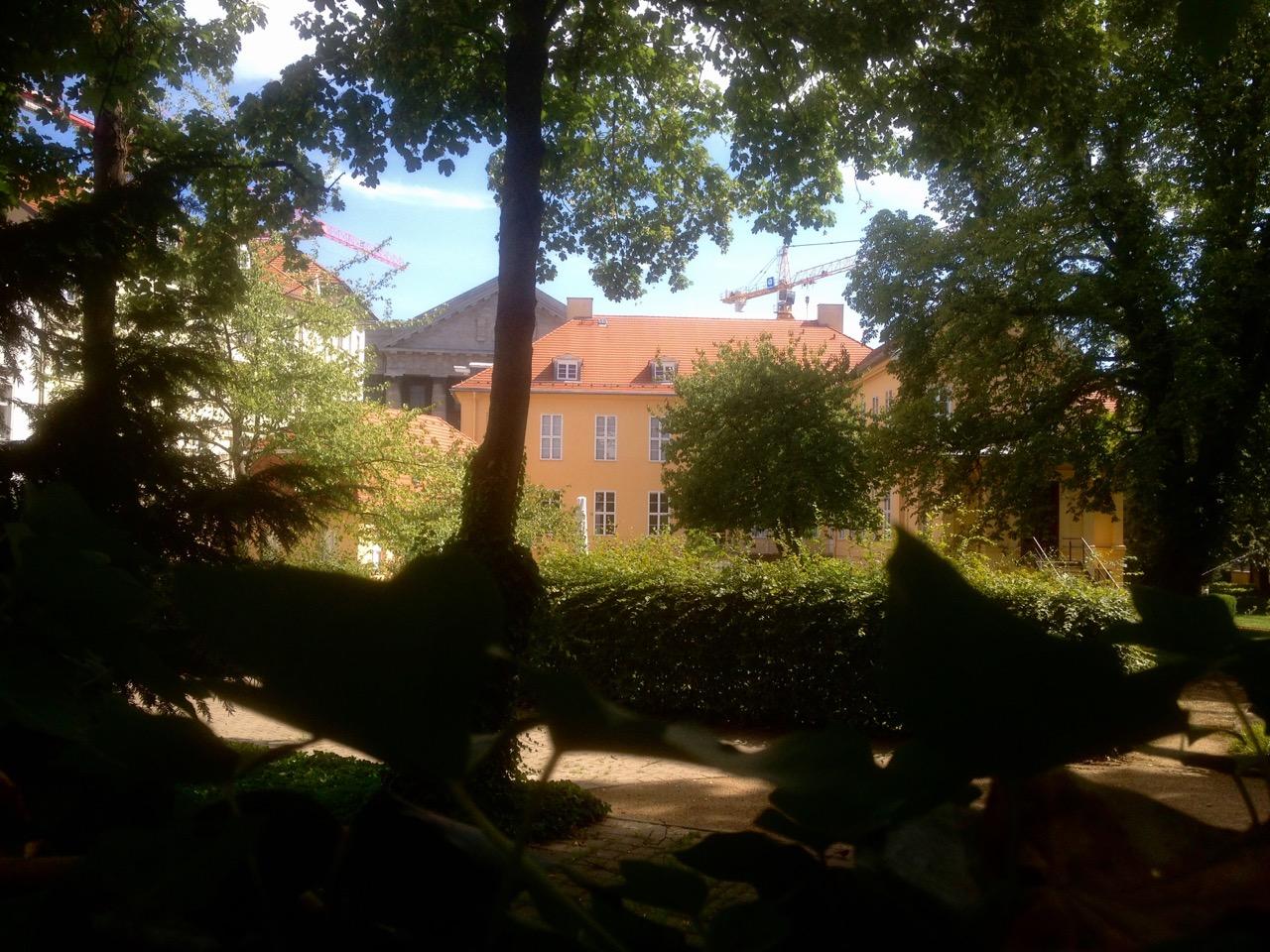 Barocker Stadtgarten - es gibt ja sonst keine Bauflächen in Berlin (Foto: André Franke)