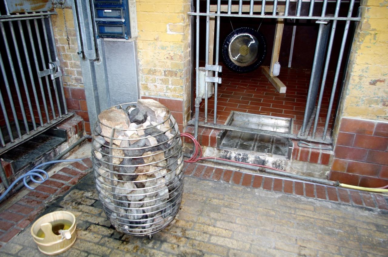 Sauna mit Taubnessel-Aufguss