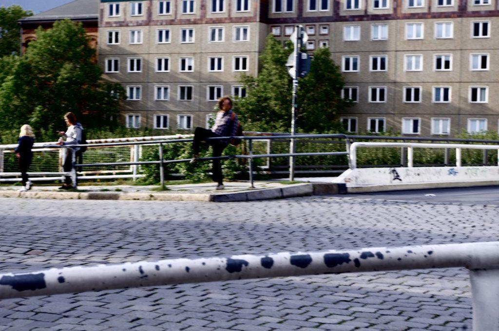Steigt einer übern Zaun zur Museumsinsel (Foto: André Franke)